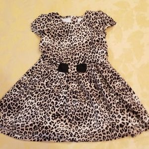Girl Gymboree leopard dress